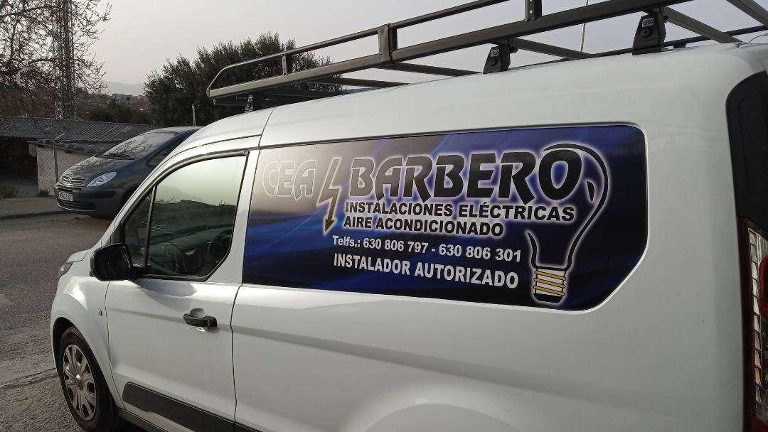 Rotulacion de vehiculos con impresión digital proyecto Cea Barbero 01