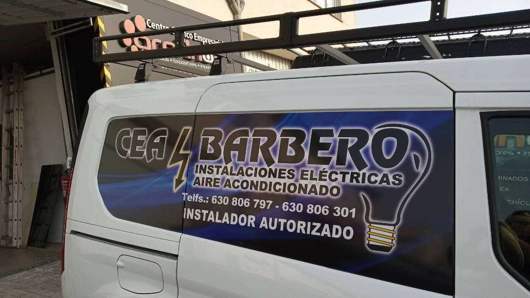 Rotulacion de vehiculos con impresión digital proyecto Cea Barbero 03