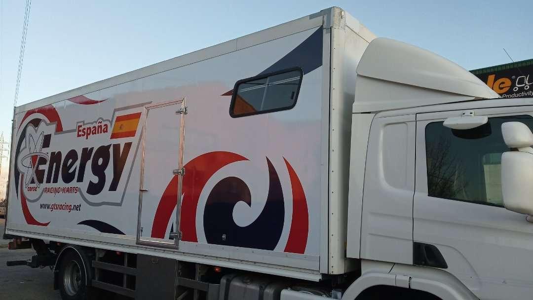 Rotulacion de vehiculos con impresión digital proyecto Energy 01