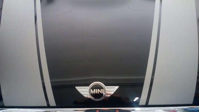 Rotulacion de vehiculos con vinilo de cartunning proyecto Mini 03