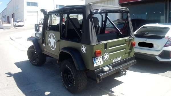 Rotulacion de vehiculos con vinilo de corte a un solo color proyecto US Army 01