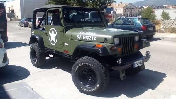 Rotulacion de vehiculos con vinilo de corte a un solo color proyecto US Army 02