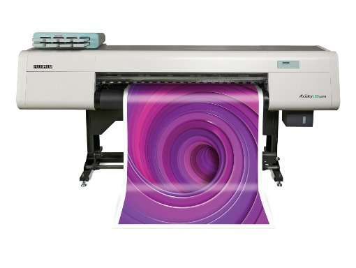 Maquina de impresion en Grafinort Centro Gráfico Empresarial Cuity LED 1600 II de Fujifilm