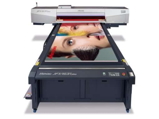 Maquina de impresion en Grafinort Centro Gráfico Empresarial Mimaki jfx 1631